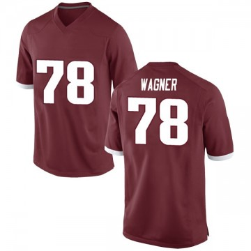 Youth Dalton Wagner Arkansas Razorbacks Game Red Football College Jersey